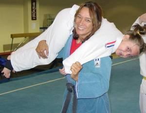 First American World Judo Champion.
