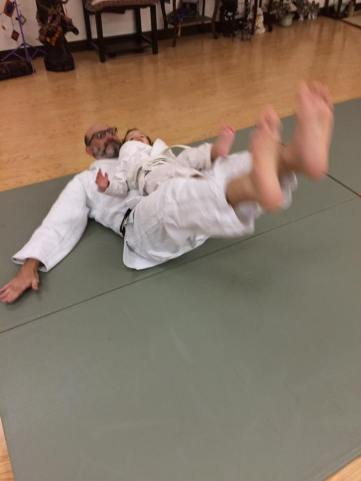Learning back fall